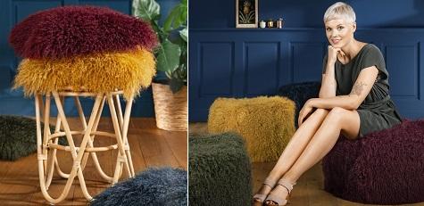 ECHTFELLE für Kissen, Sitzmöbel & Deko