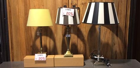 Ausgesuchte Lampen im Abverkauf | SETs -20%