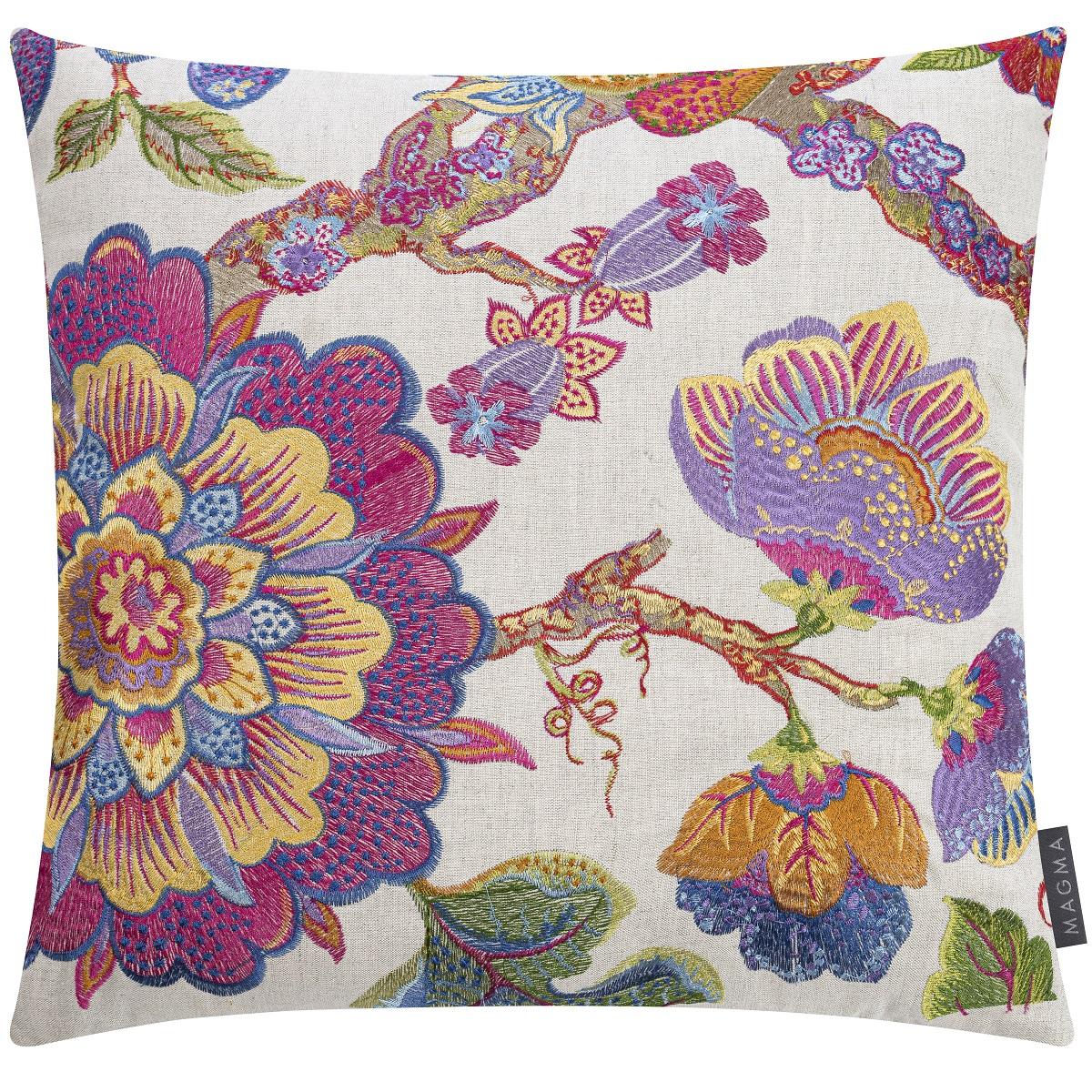 Deko Kissen grafisches Muster Samtoptik verschiedene Farben 45x45cm